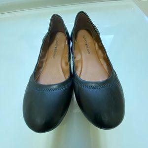 Lucky Brand Black Ballet Flats 8.5 M